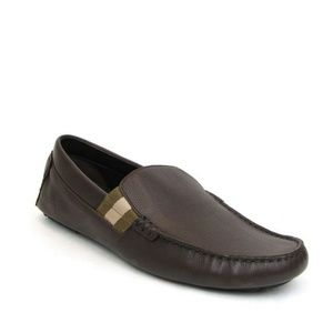 Gucci Chocolate Brown Leather Loafers 363835 2177